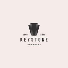 Keystone Key Stone Logo Hipste...