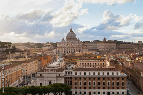 Foto  Rome panorama