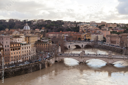 Rome panorama Canvas