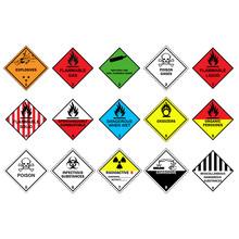Transport Hazard Pictograms, W...
