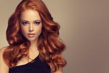 Beautiful Model  Girl With Lon...