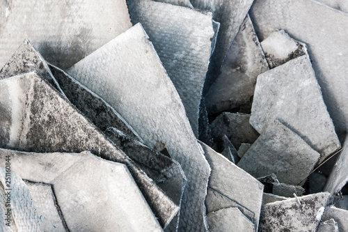 asbestos sheets background Wallpaper Mural