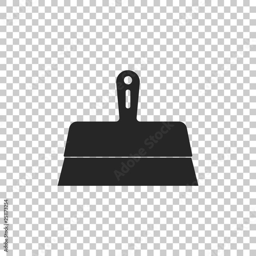 Fotografía  Putty knife icon isolated on transparent background