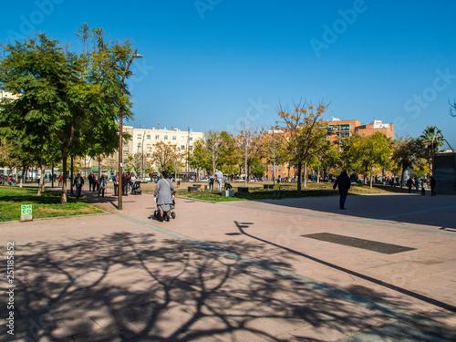 Fotografia  Jardines de Can Xiringoi - Cotxeres- Nou Barris (Barcelona)