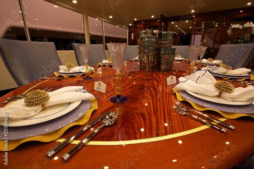 Fotografie, Tablou  Elegant Table Setting
