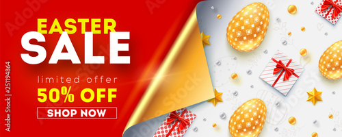 Fotografía  Easter sale get up to 50 percent discount