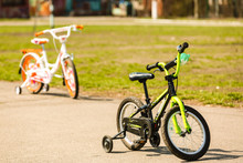 A Children's Low Two-wheeled W...