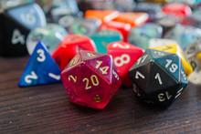 Various Colorful Polyhedral Ga...