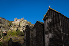 Fishing Huts In Old Hastings