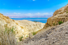 Nahal David Valley, In The Ein Gedi Nature Reserve