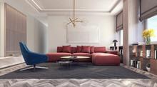Modern Interior Design With Re...