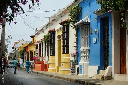 Photo  Cartagena colombia houses