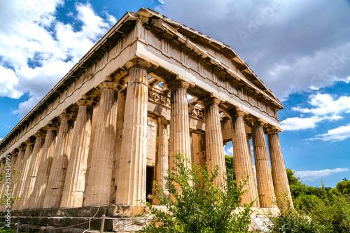 Cuadros en Lienzo Temple of Hephaestus, Greece, Athens