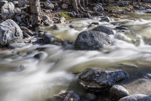 Eaton Canyon Creek With Motion...