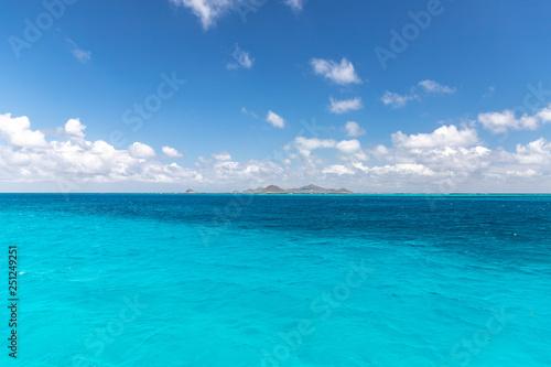 Canvas Prints Ocean Saint Vincent and the Grenadines, Union view