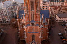 Aerial View Of The Saint Gertr...