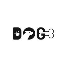 Letter Dog Logo