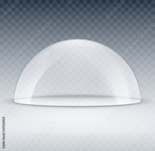 Canvastavla Glass dome container mock-up
