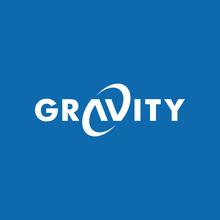 Gravity Wordmark Logo Icon Vector Template