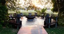 Nice Terrace In Namibia