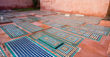 The Saadian Tombs. These Tombs...