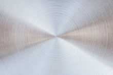 Shiny Metal Circle In Many Layer Overlap Patterns Abstract