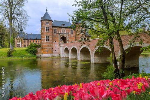 Groot Bijgaarden Castle in Brussels Belgium