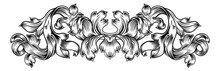 A Floral Filigree Pattern Scro...