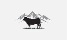 Black Angus Logo Design, Beef ...