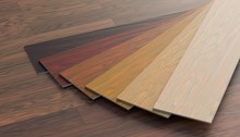 Color Samples Of Wooden Lamina...
