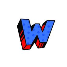 Logo, Letter W. Vector. Linear...