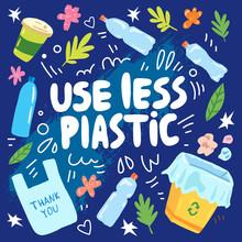 Use Less Plastic Ecological Ze...