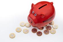 UK Money Crisis, Piggy Bank Wi...
