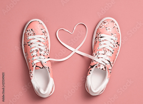 Photo Coral colored Love, Hipster Set