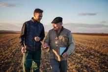 Farmers In The Field Use Advan...