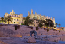 Palma De Mallorca - The Cathed...