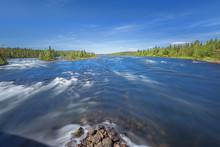 Dreamy View Of The Pite River ...
