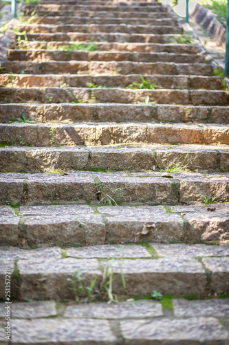 Fotografie, Obraz  escada de pedras