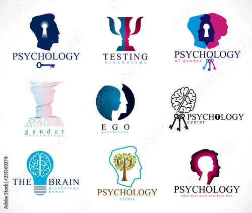 Valokuva  Psychology, human brain, psychoanalysis and psychotherapy, relationship and gender problems, personality and individuality, cerebral neurology, mental health