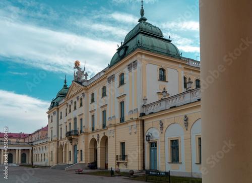 Obraz Bialystok Pałac Branickich Polska Poland Polen Branicki Palace - fototapety do salonu