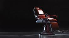 Barbershop Chair In Interior B...