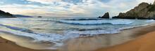 Sunset In Laga Beach