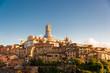 Stimmungsvoll das Stadtpanorama von Siena im spätsommerlichem Abendlicht