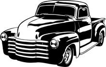 1949 Chevy Pickup Vector Illus...