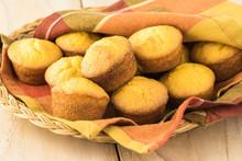 Mini Cornbread Muffins.