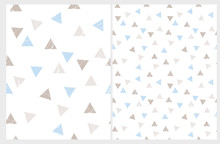 Simple Triangles Vector Patter...