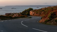 St Ouen Bay At Sunset From Cor...