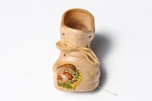 Boot Shaped Bowl.  Ceramic Dec...