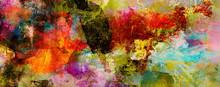 Texturen Malerei Farben Banner...