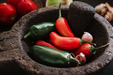 Chilies For A Mexican Sauce, S...